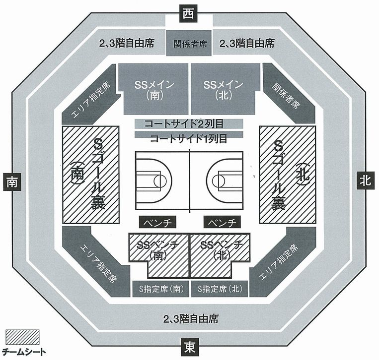 bj座席図