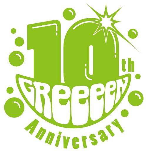 GReeeeN_10周年ツアー_logo