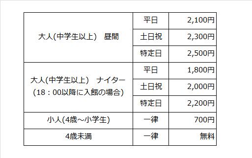 大江戸料金