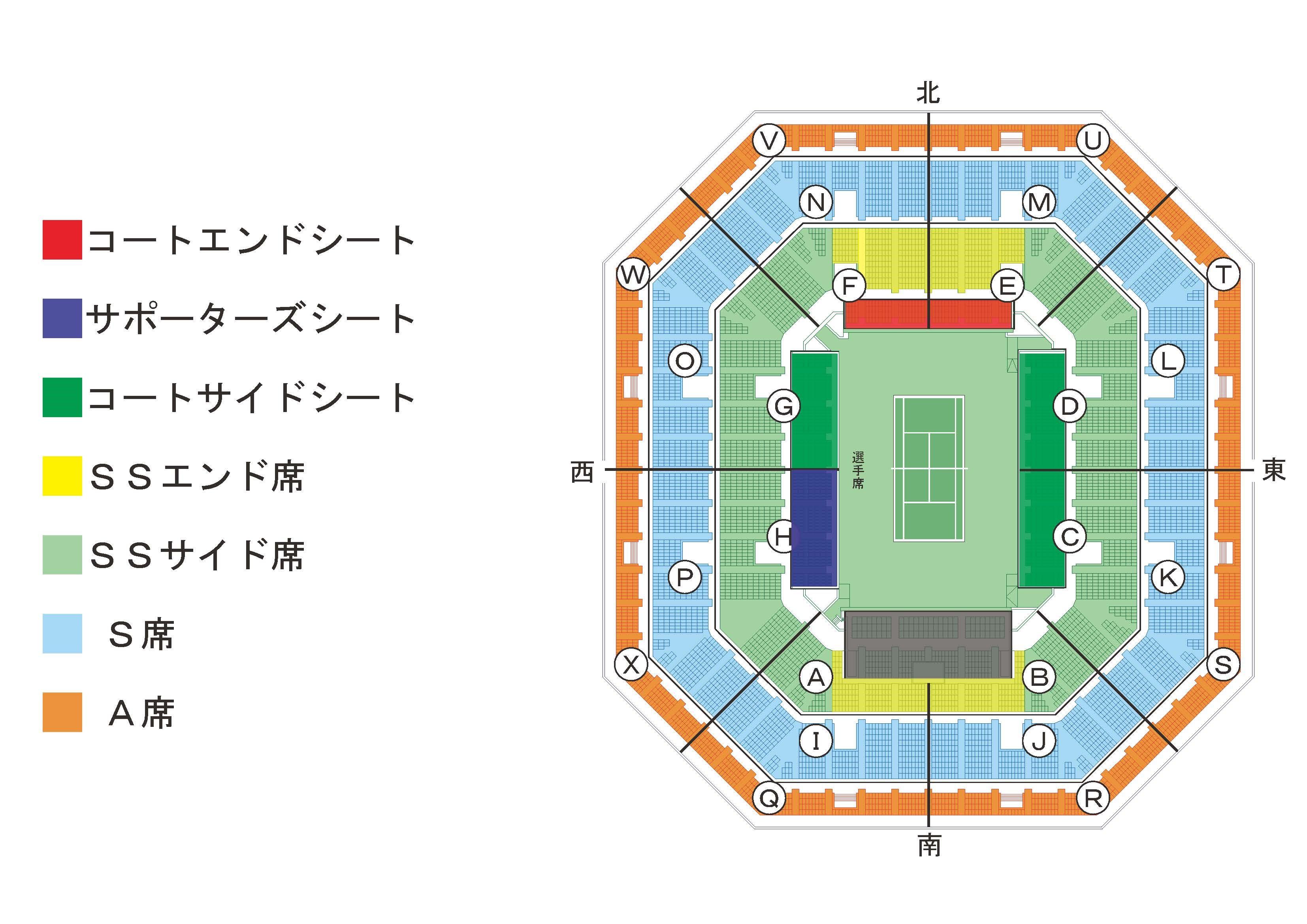 デビス座席図