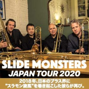 SLIDE MONSTERS -JAPAN TOUR 2020-