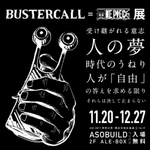 BUSTERCALL=ONEPIECE展