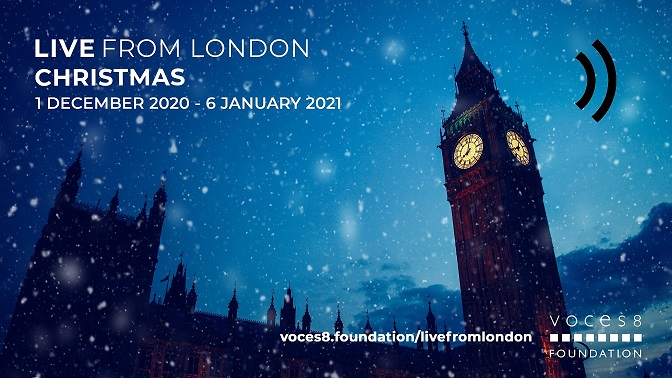 LIVE FROM LONDON – CHRISTMAS / BACH FOR CHRISTMAS